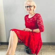 IrenaKunc kobieta Łuków -  Jestem szczupłą samotną blondynką