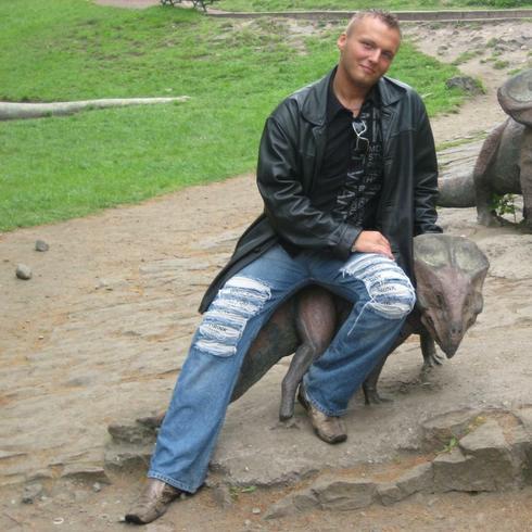 FajnyIWysoki mężczyzna Zabrze -  Sonriendo y amado Hombre....
