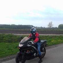 Motocyklista2828 mężczyzna Jarosław -