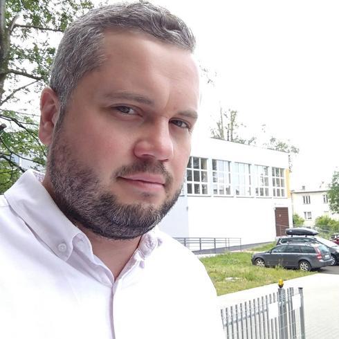 PapcioZwyrcio Mężczyzna Bielsko-Biała - W biegu