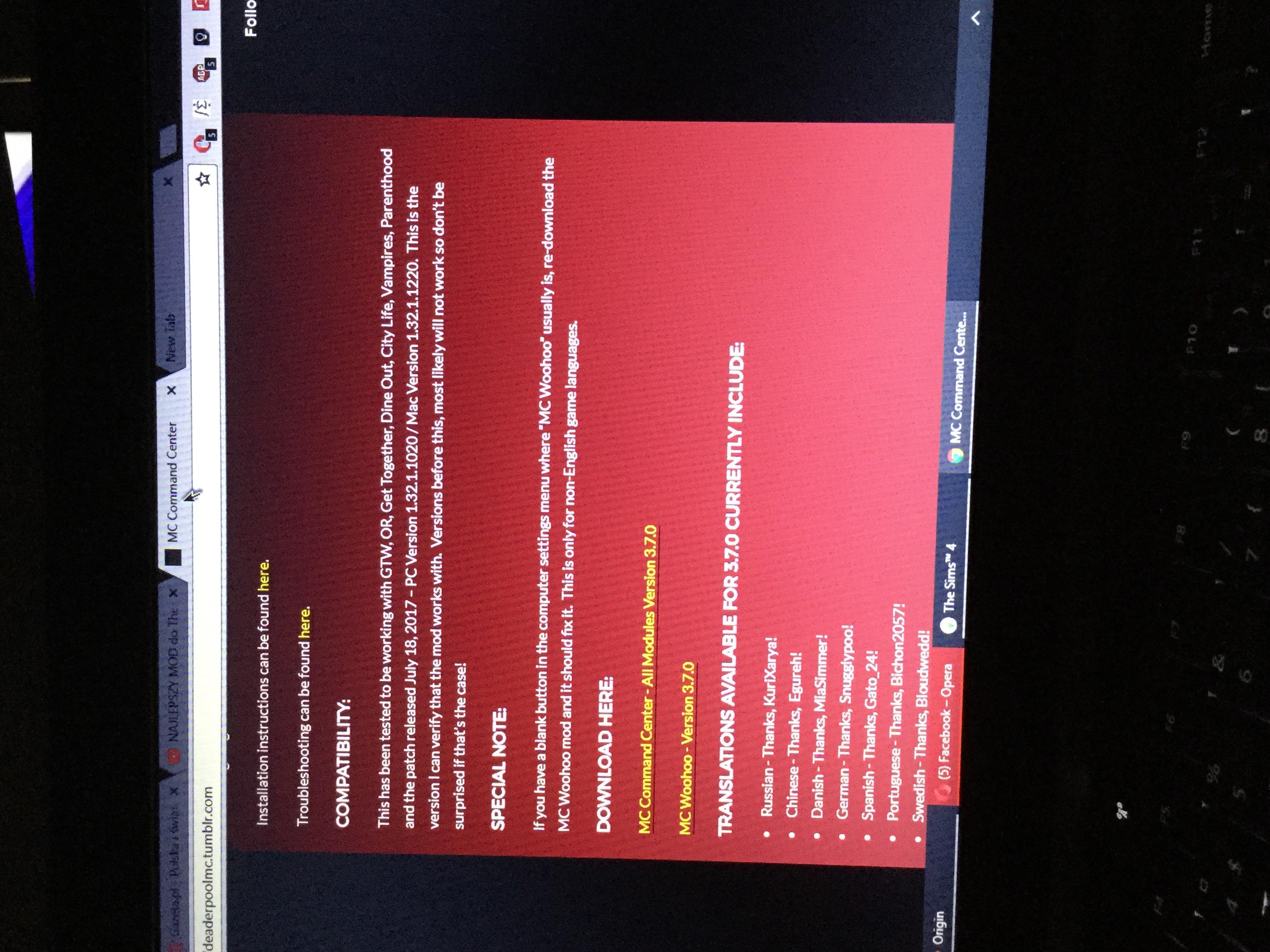 mc command mod sims 4 download