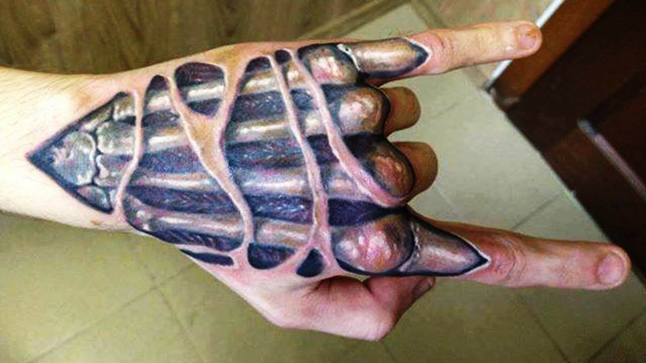 Ile Kosztuje Tatuaż 3d Na Dłoni Zapytajonetpl