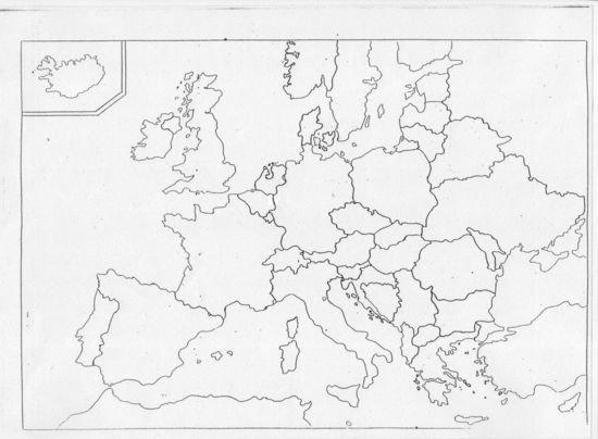 Mapa Polityczna Panstwa Stolice Zadania Sciagi I Testy