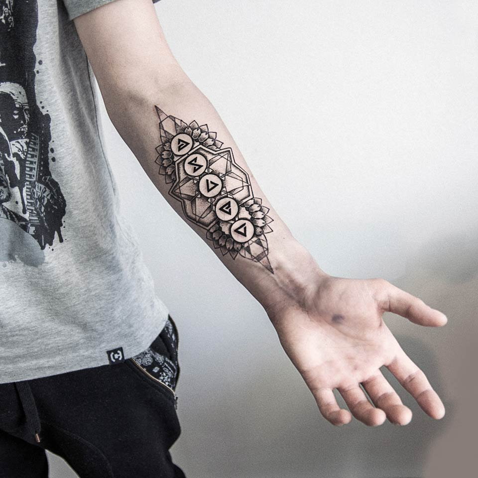 Podoba Wam Sie Taki Tatuaż Dla Chlopaka A Jak Nie To