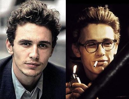 "James Franco jako James Dean (""James Dean: Legenda"")"