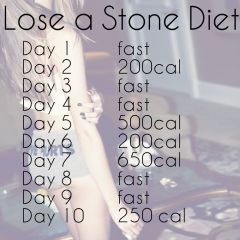 lose a stone diet