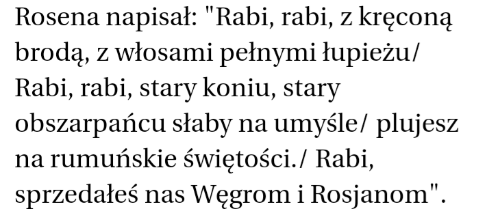 Czy Podoba Ci Się Wiersz Rumuńskiego Nacjonalisty Corneliu
