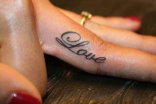 Tatuaż Na Palcu Zapytajonetpl