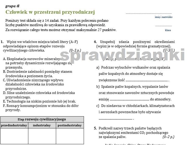 karty maturalne biologia nowa era pdf