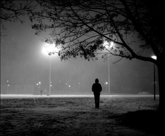 Samotne osoby...