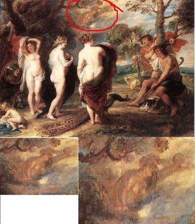 """Kim według ciebie może być ta postać na obrazie Petera Paula Rubensa ,,Sąd  Parysa"""" ? - Zapytaj.onet.pl -"""