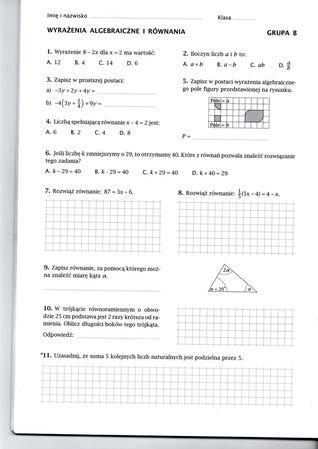 gwo testy z matematyki