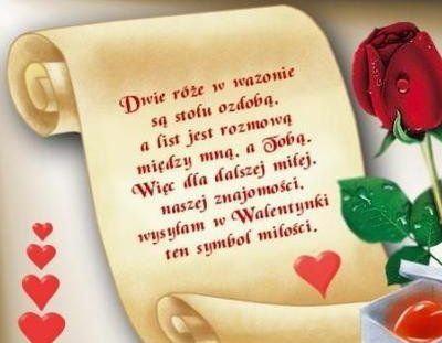 Znacie Jakieś Fajne Wierszyki Na Walentynki Zapytajonetpl