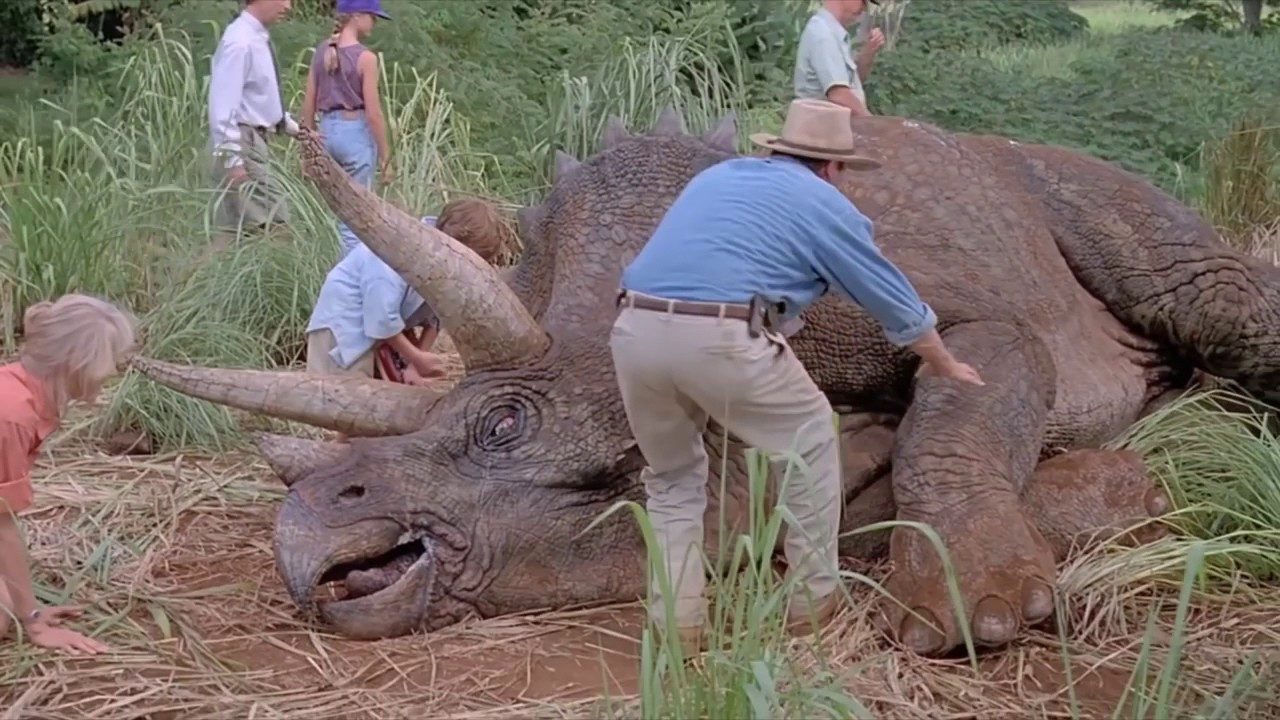 z triceratopsem