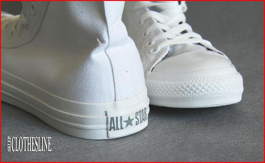 Jak rozpoznać podróbki butów Converse Nieoryginalny