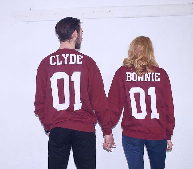 Bluzy dla dwojga BONNIE i CLYDE