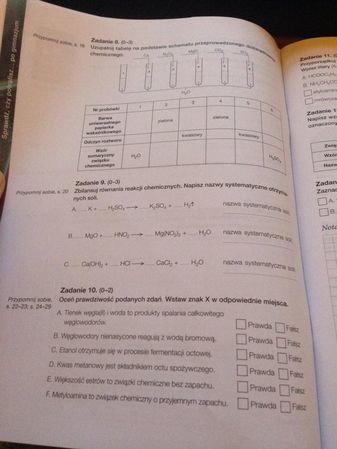 karta pracy ucznia to jest chemia odpowiedzi pdf