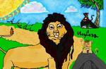 Król Lew ( Paint)