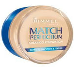 "Rimmel ""Match perfection""."