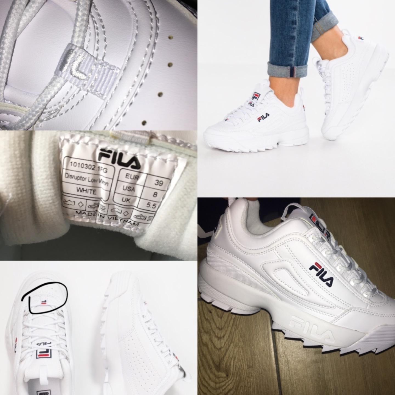 fila buty damskie biale zalando