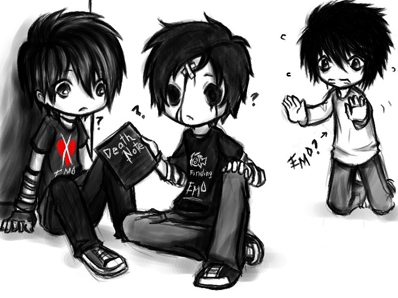 Emo is music, Scene is a style, I know them both, cuz I love it all