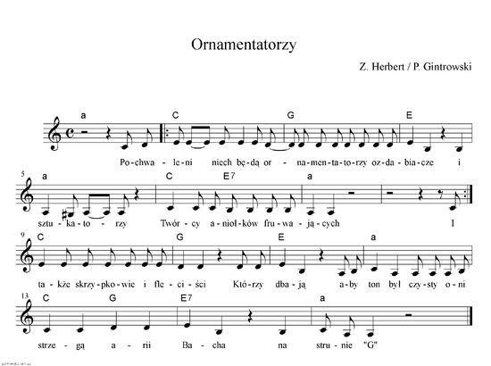 Unikalne Czy nuty na pianino, keyboard muszą być z kluczem basowym i FZ89