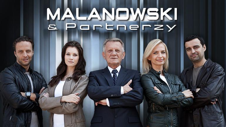 """Lubimy\Uwielbiamy\Kochamy serial ,,Malanowski i partnerzy""""."""
