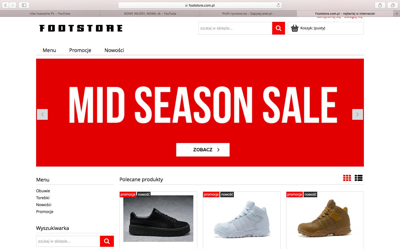 Czy ta strona sprzedaje oryginalne buty? Zapytaj.onet.pl