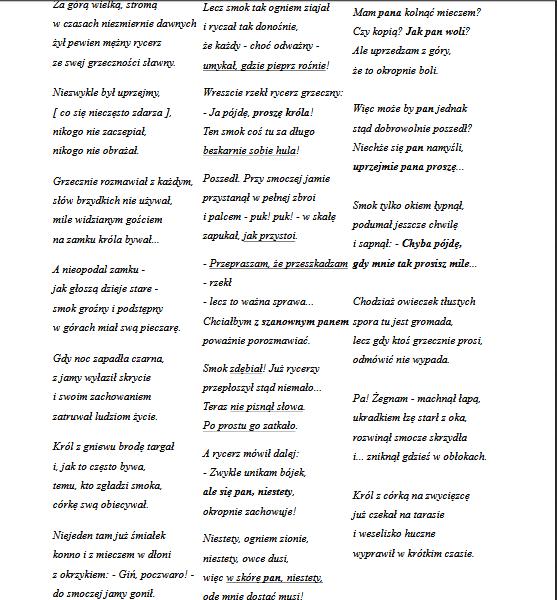 Jakie Proponujecie Wiersze Do Recytacji Zapytajonetpl