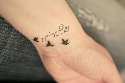 Jaki Napis Na Tatuaż Na Nadgarstku Zapytajonetpl