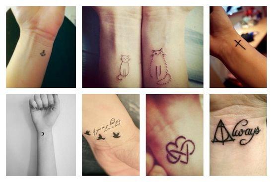 Co Sądzicie O Tatuażach Na Nadgarstku Zapytajonetpl