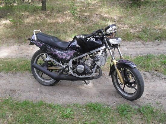Zaawansowane Tanio sprzedam suzuki rg80/50 ścigacz motorower OKAZJA! - Zapytaj YV97
