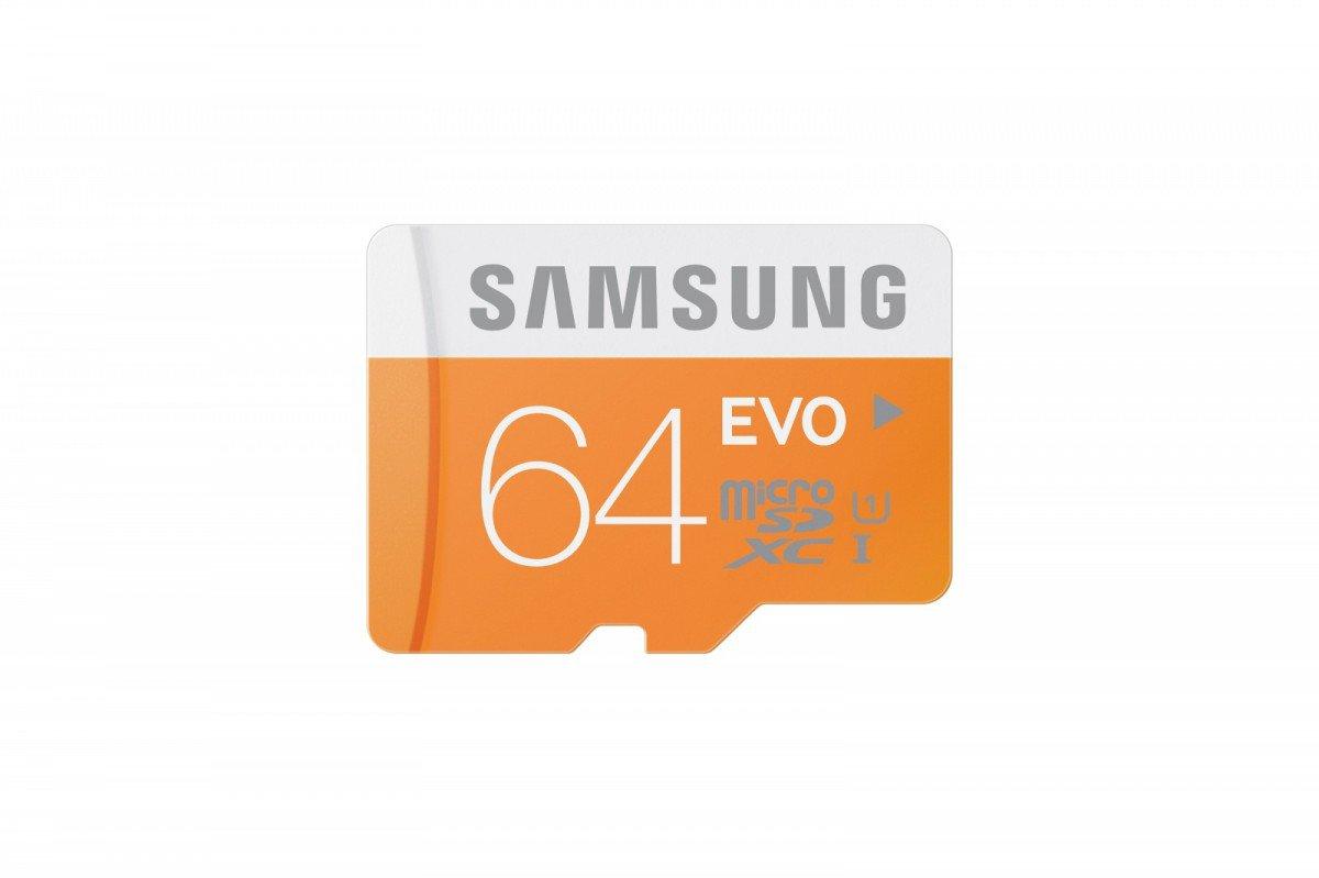 SAMSUNG EVO MICROSDXC 64GB | Szybkość Odczytu: 48 MB/s |
