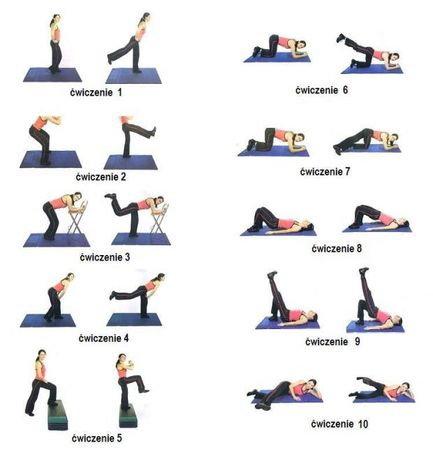 Cwiczenia alby schudnąć z nóg i brzucha dla kobiet