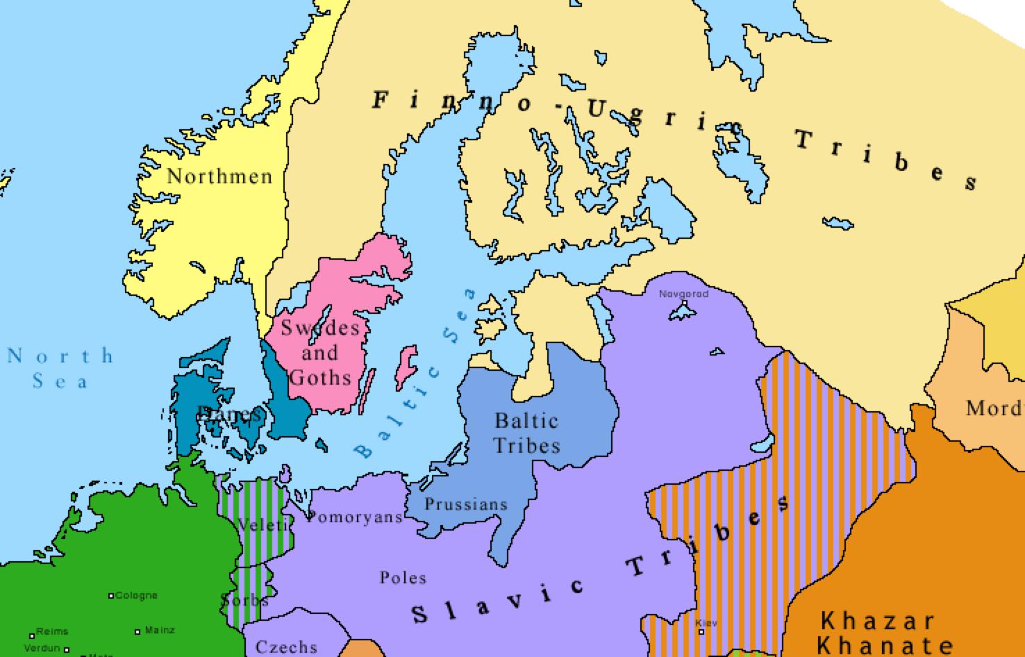 Mapa Konturowa Europy Scienna Mapa Cwiczeniowa