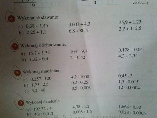 matematyka wokół nas 4 testy