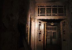 W opuszczonym szpitalu psychiatrycznym