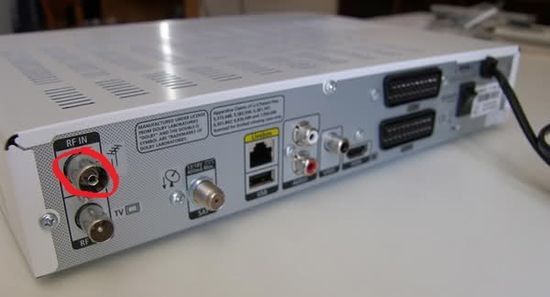 podłączenie satelity rv