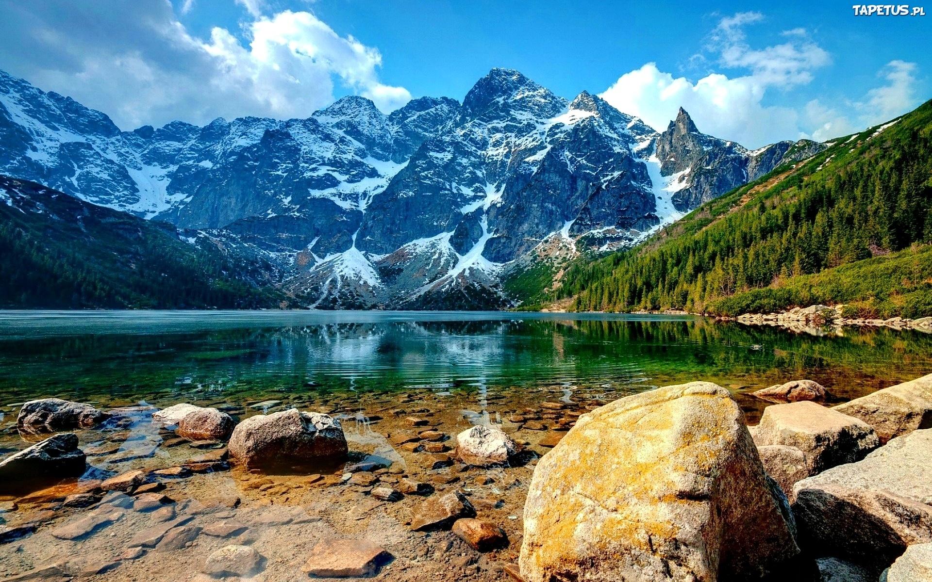 Lśniące Jezioro i okolice