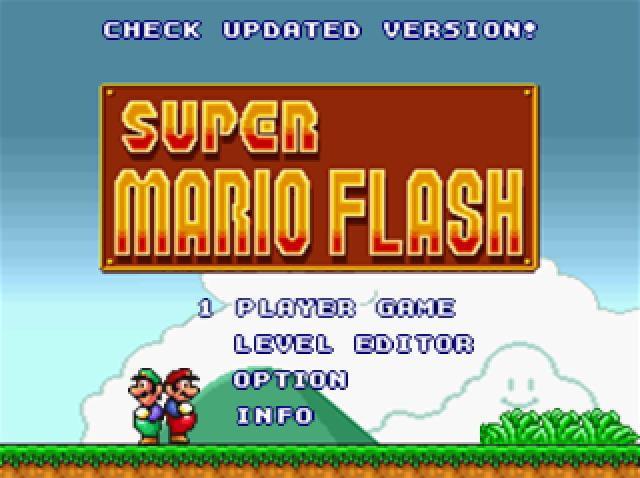 Klub Super Mario Flash!