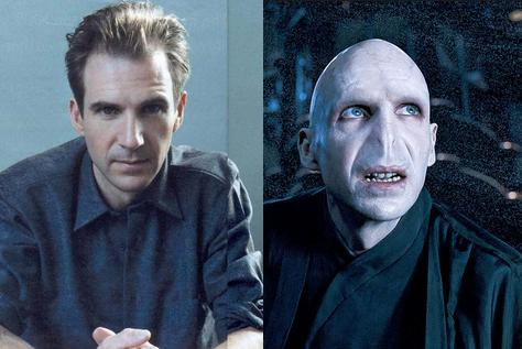 "Ralph Fiennes jako Lord Voldemort (""Harry Potter..."")"