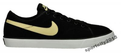 Nike Primo Court Leather Black ze złotym logo