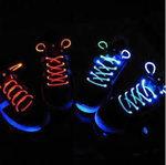 świecące sznurówki xD