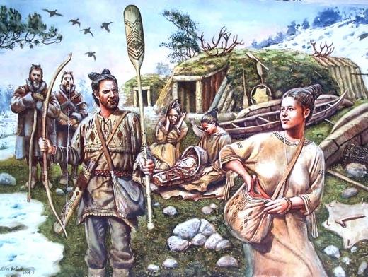 Polowali za pomocą toporów bojowych na zwierzyne