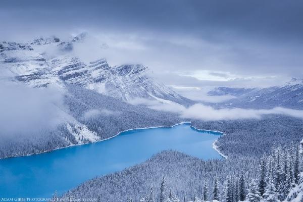 2. Jezioro Peyto, Kanada
