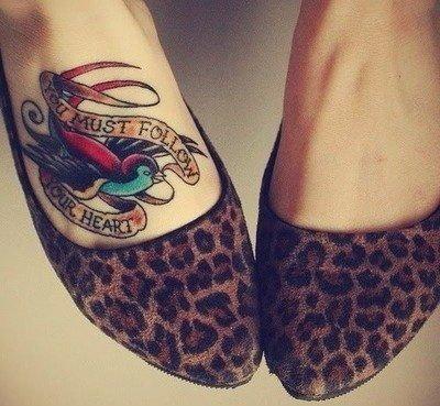 Jakie Delikatny Tatuaż Na Stopie Zapytajonetpl