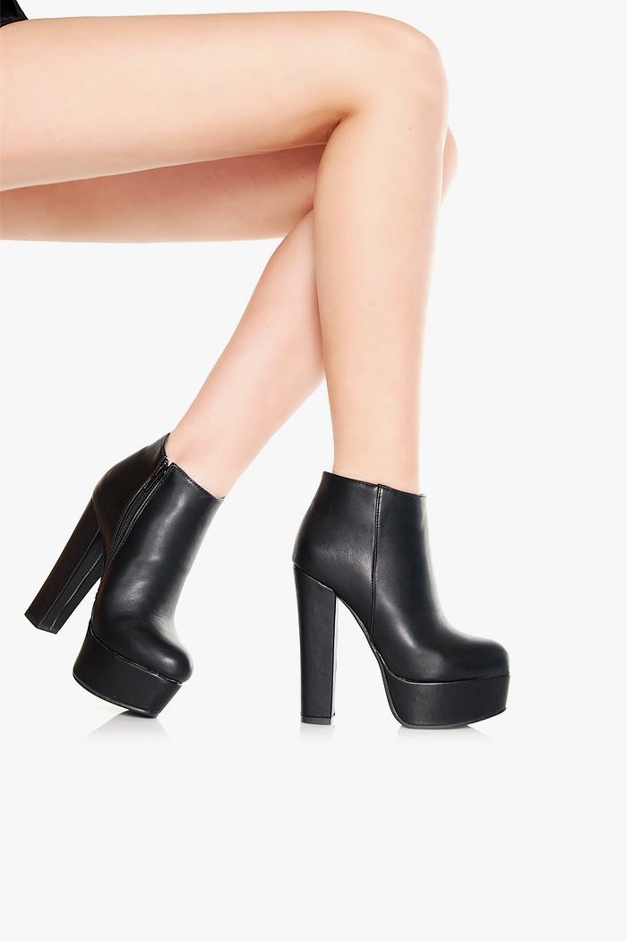 09c82b8824897 Jak wam sie podobaja takie buty za kostke na slupku i platformie z  zapinaniem z boku?