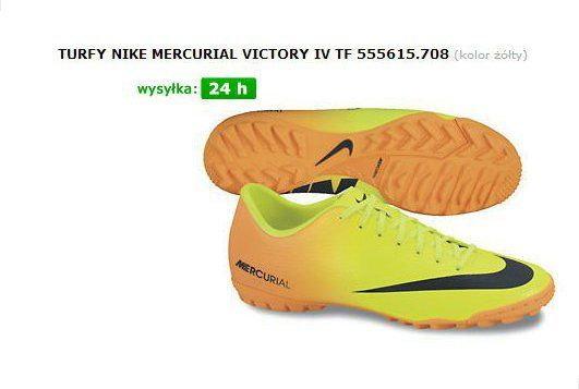 Czy te buty Nike Mercurial Victory IV TF są wytrzymałe i czy