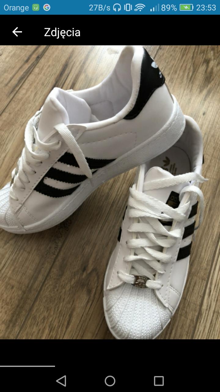 Czy to oryginalne buty adidas superstar? I jeśli nie czy