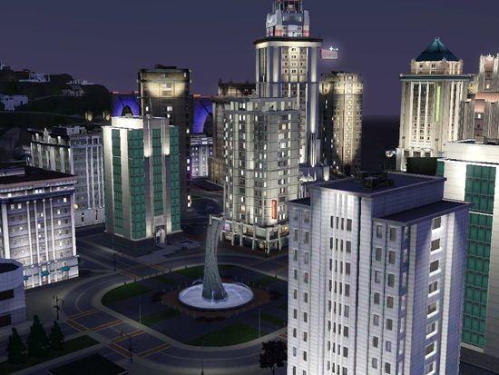 Podoba wam się miasto Bridgeport? (The Sims 3 Po zmroku